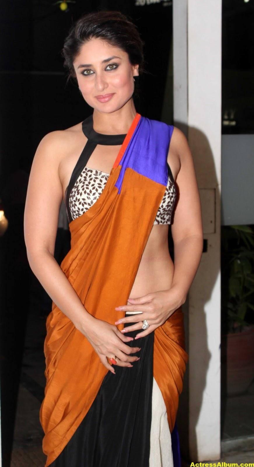 Kareena Kapoor Latest Hot Photos in Yellow Saree 8
