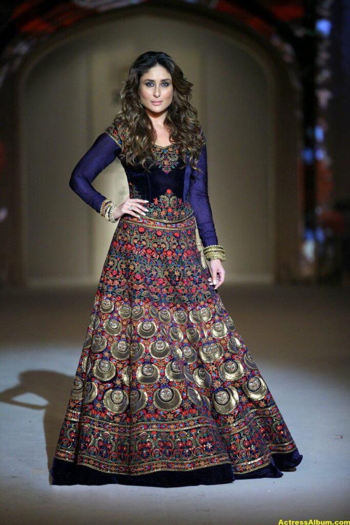 Kareena Kapoor Photos In Blue Dress 2