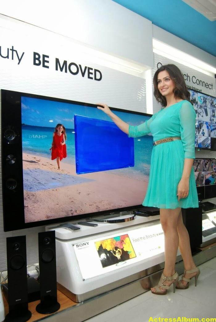 Kriti Kharbanda launches Yes Mart Superstore at Kompally, Hyderabad