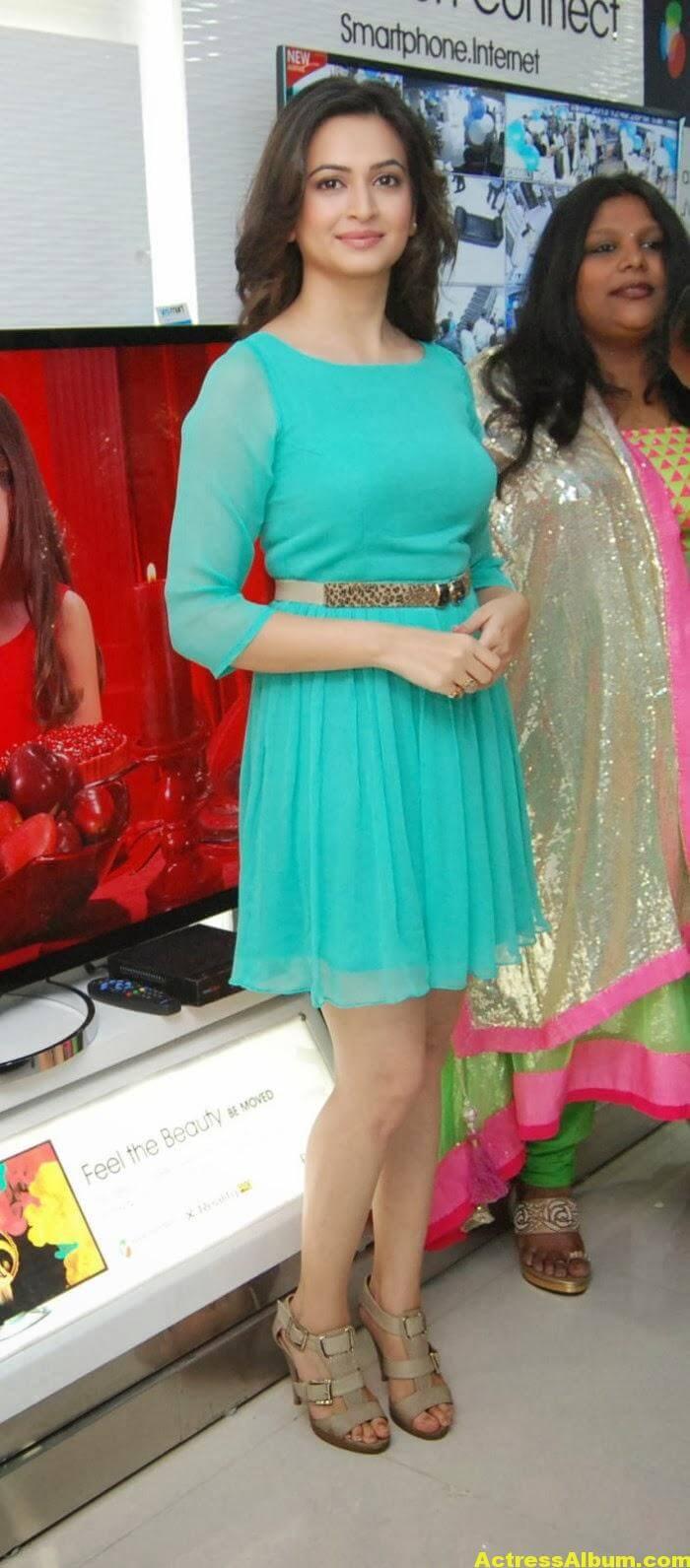 Kriti Kharbanda In Blue Skirt