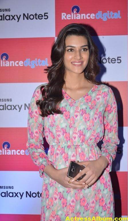 Kriti Sanon Latest Stills In Red Dress 1