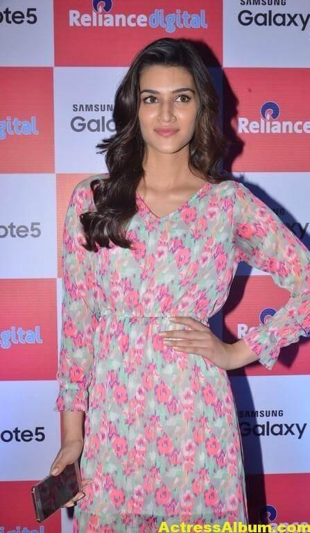 Kriti Sanon Latest Stills In Red Dress 3