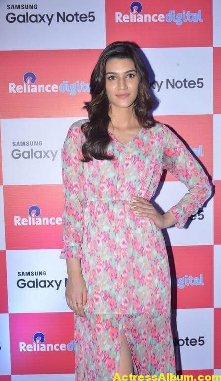 Kriti Sanon Latest Stills In Red Dress 4