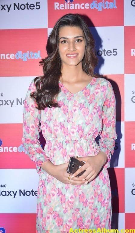 Kriti Sanon Latest Stills In Red Dress 5