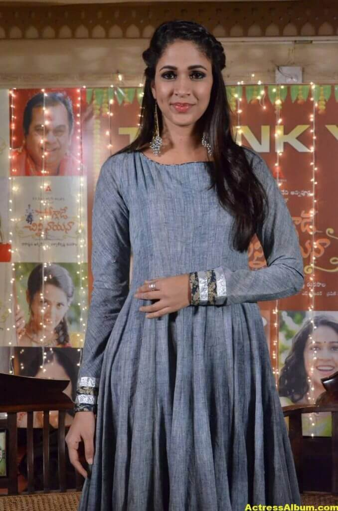 Lavanya Tripathi Latest Hot Photos In Blue Dress 2