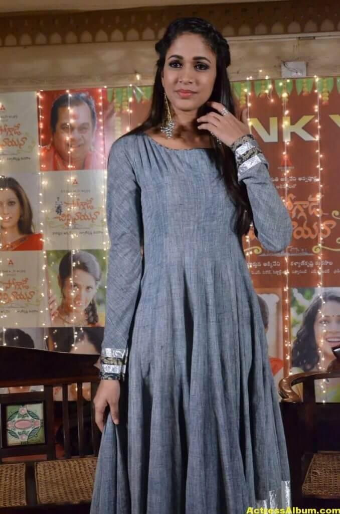 Lavanya Tripathi Latest Hot Photos In Blue Dress 3