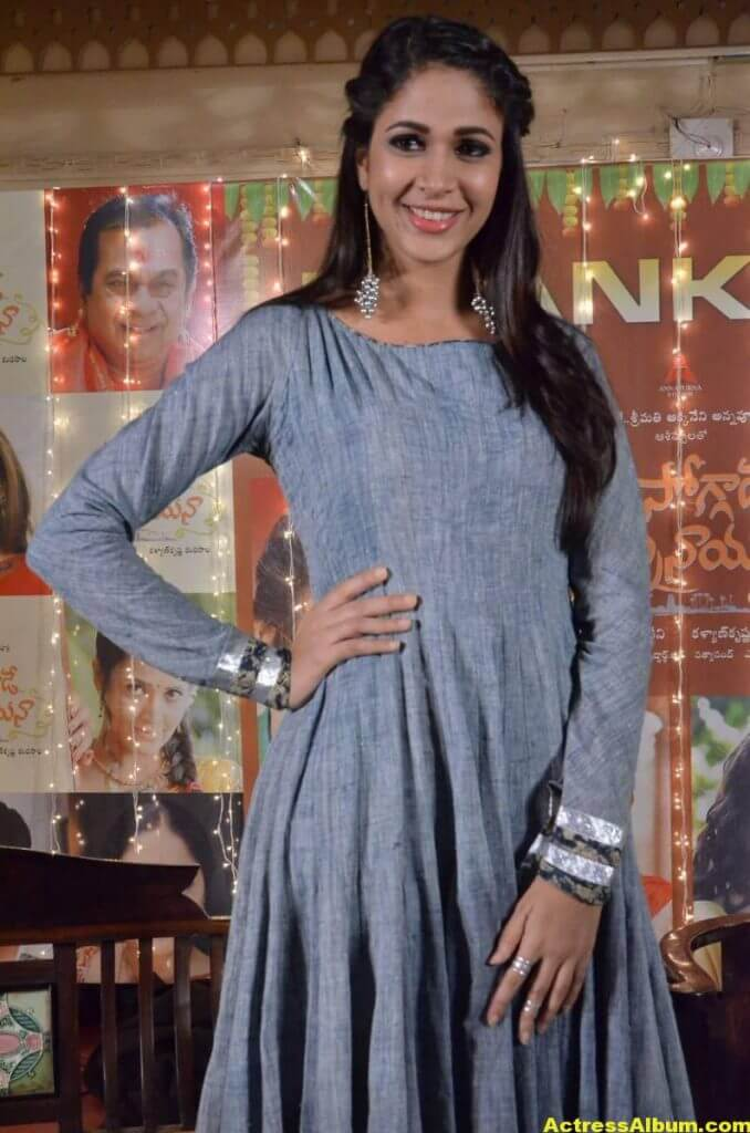 Lavanya Tripathi In Blue Dress