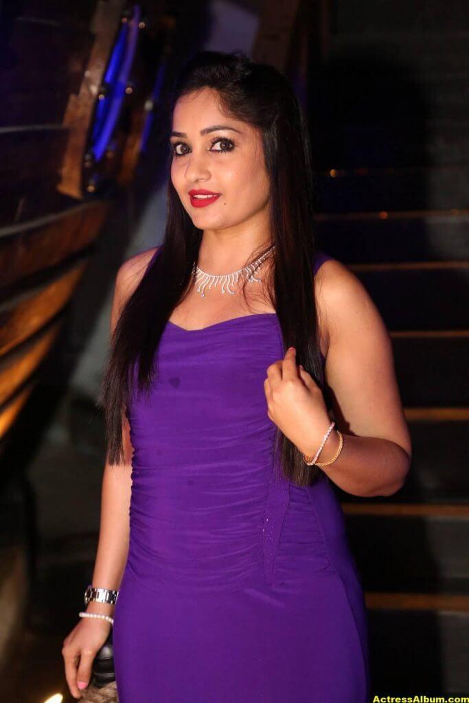 Madhavi Latha At Movie Event