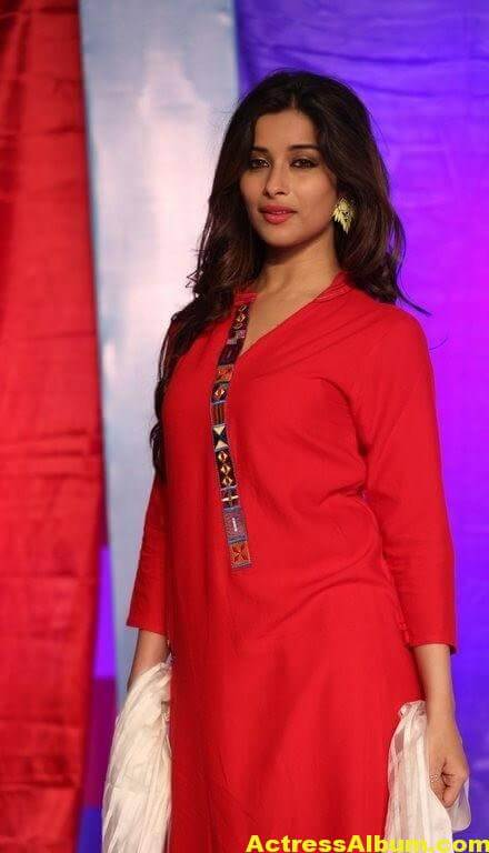 Madhurima Latest Photos In Red Dress 3