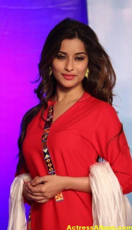 Madhurima Latest Photos In Red Dress 4