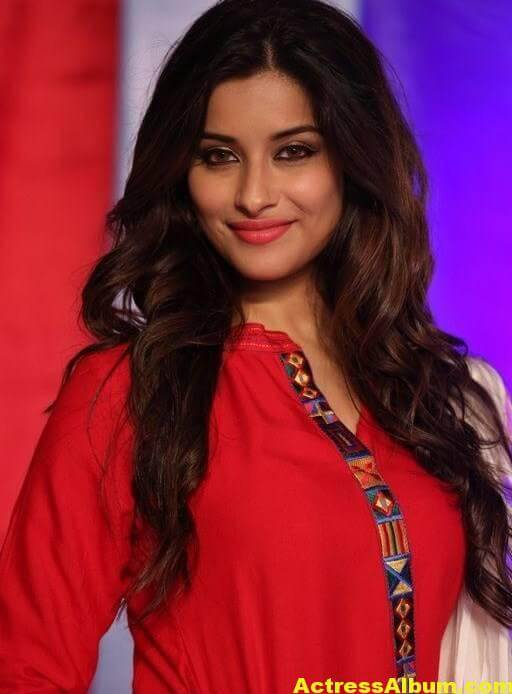 Madhurima Latest Photos In Red Dress 5