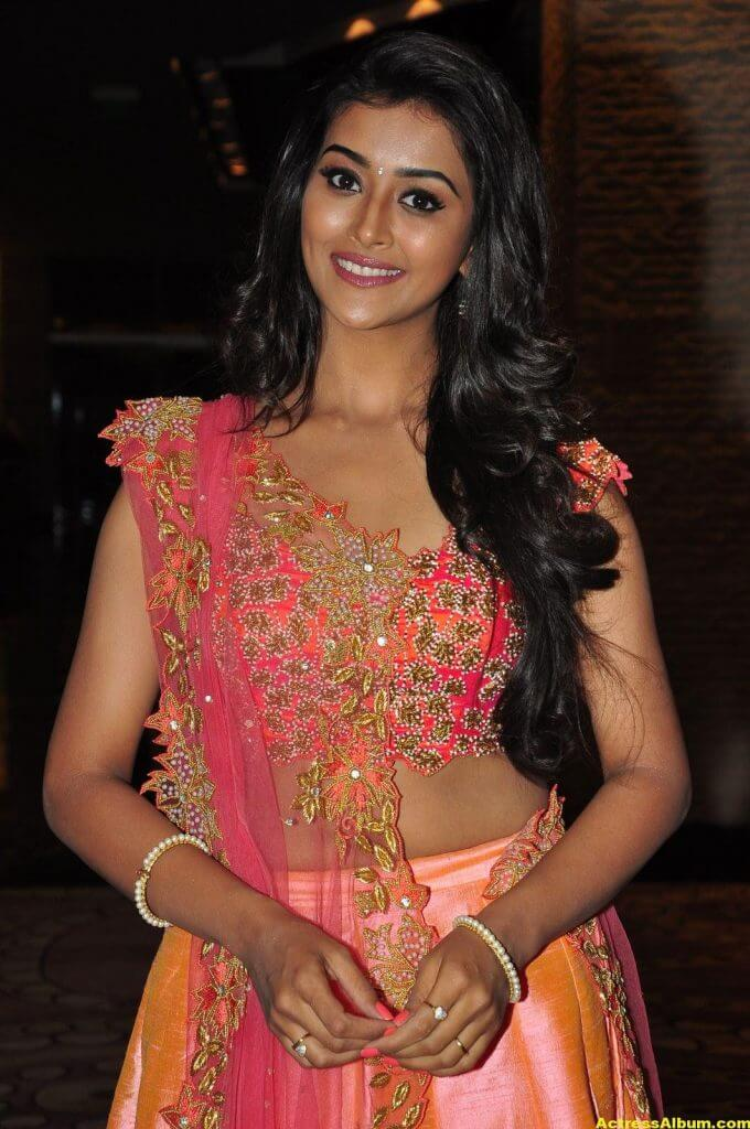 Pooja Jhaveri Hot Stills In Pink Dress 1