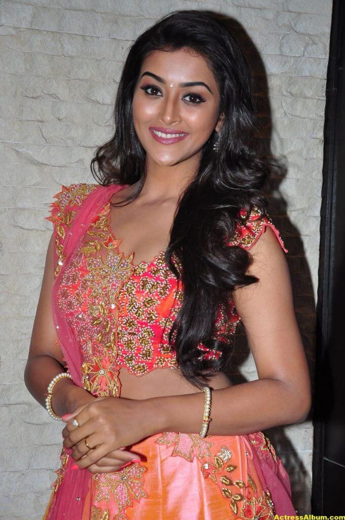 Pooja Jhaveri Hot Stills In Pink Dress 2