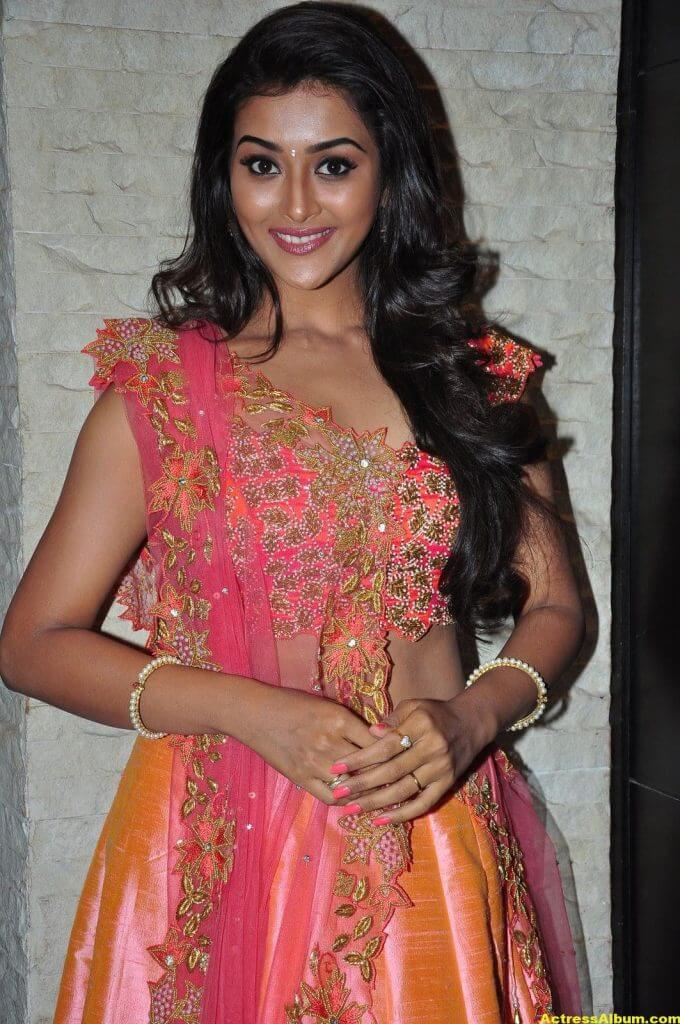 Pooja Jhaveri Hot Stills In Pink Dress 3