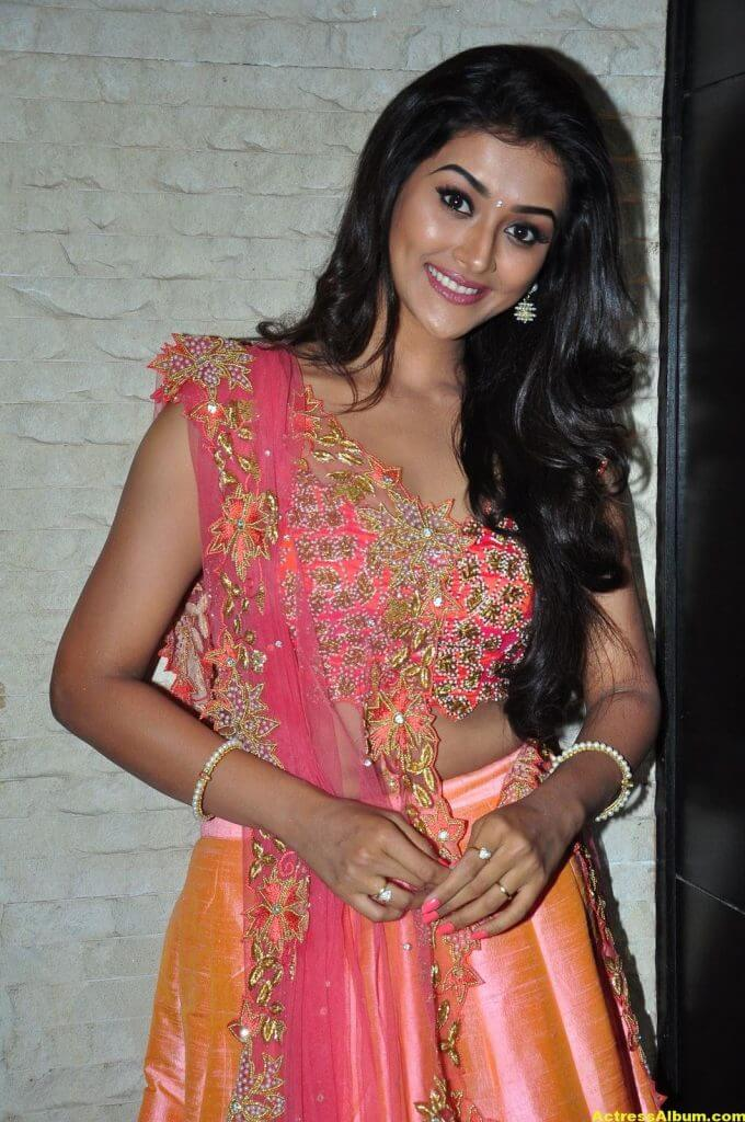 Pooja Jhaveri Hot Stills In Pink Dress 4