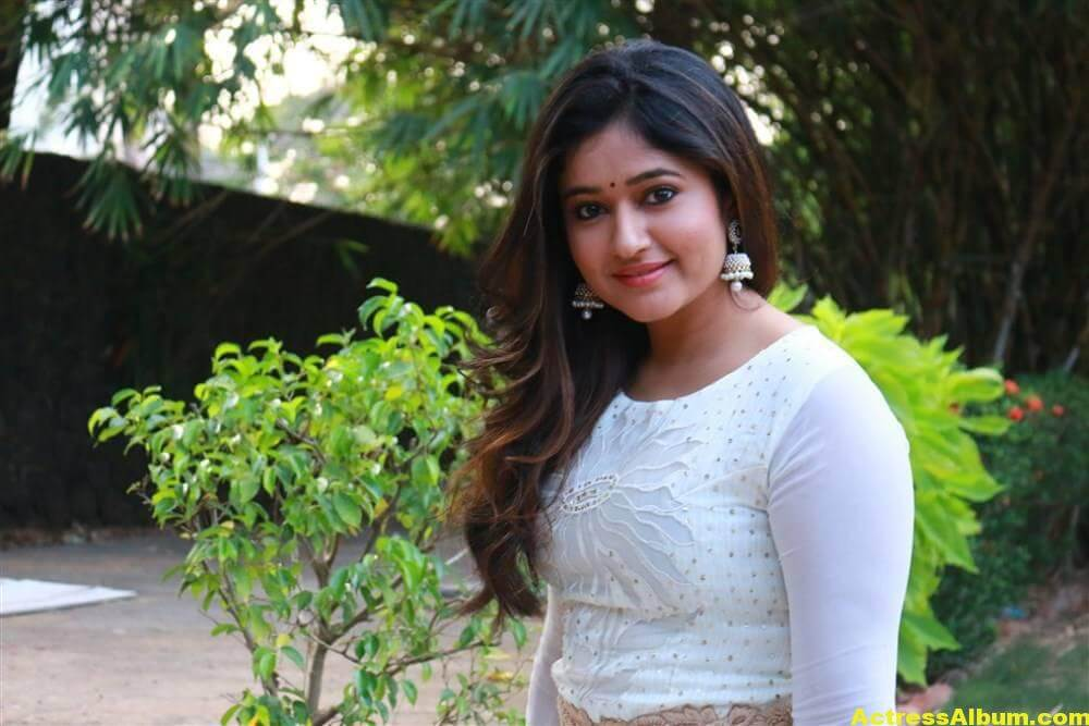 Poonam Bajwa Hot Stills In White Dress 2