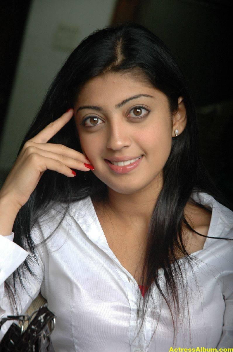 Pranitha Latest Stills In White Shirt