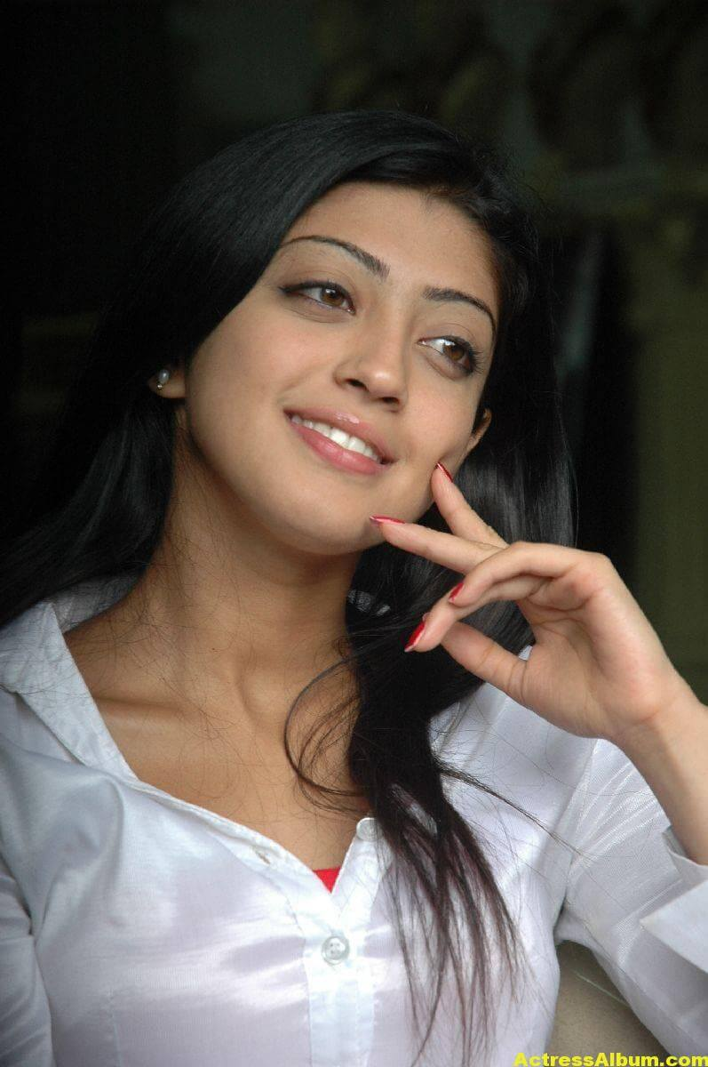Pranitha Latest Stills In White Shirt 2