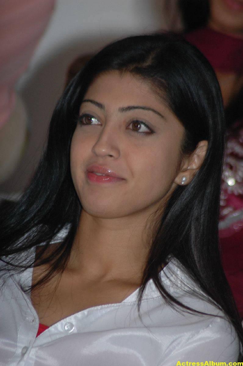 Pranitha In White Shirt
