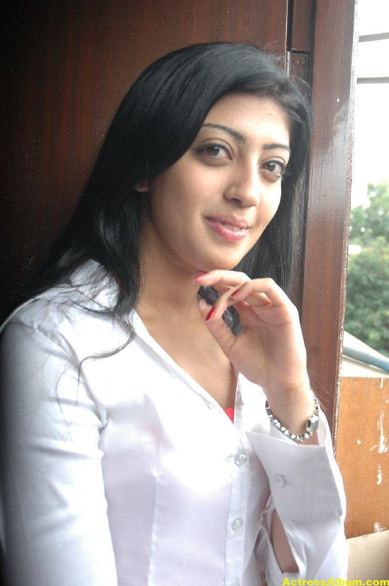 Pranitha Latest Stills In White Shirt 8