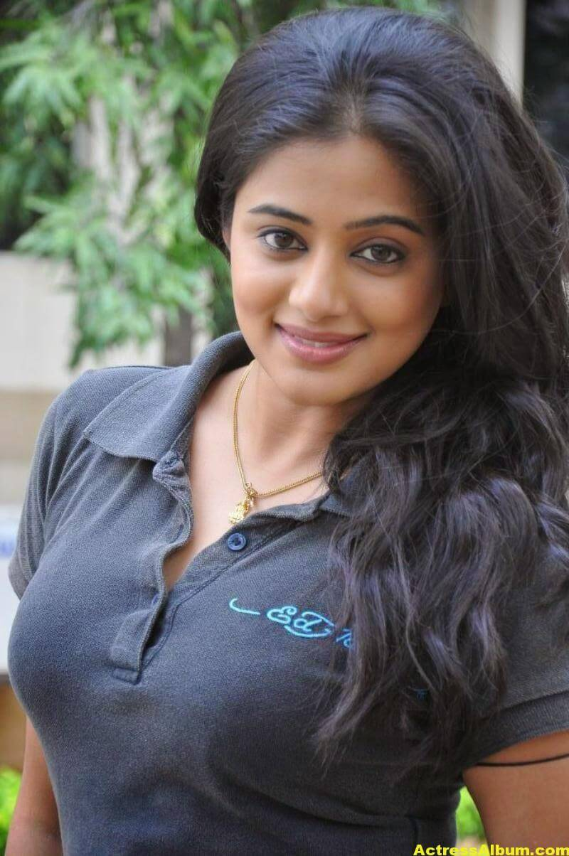 Priyamani Latest Stills in Black Dress 2