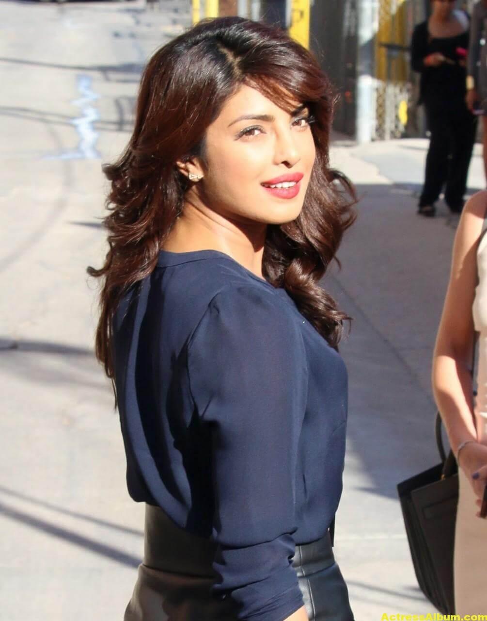 Priyanka Chopra Latest Stills in Blue Dress 3