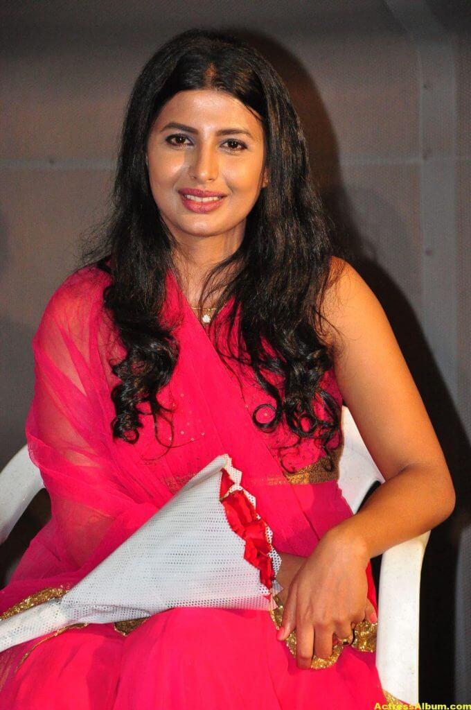 Rajshri Ponnappa Hot Stills In Pink Dress 4