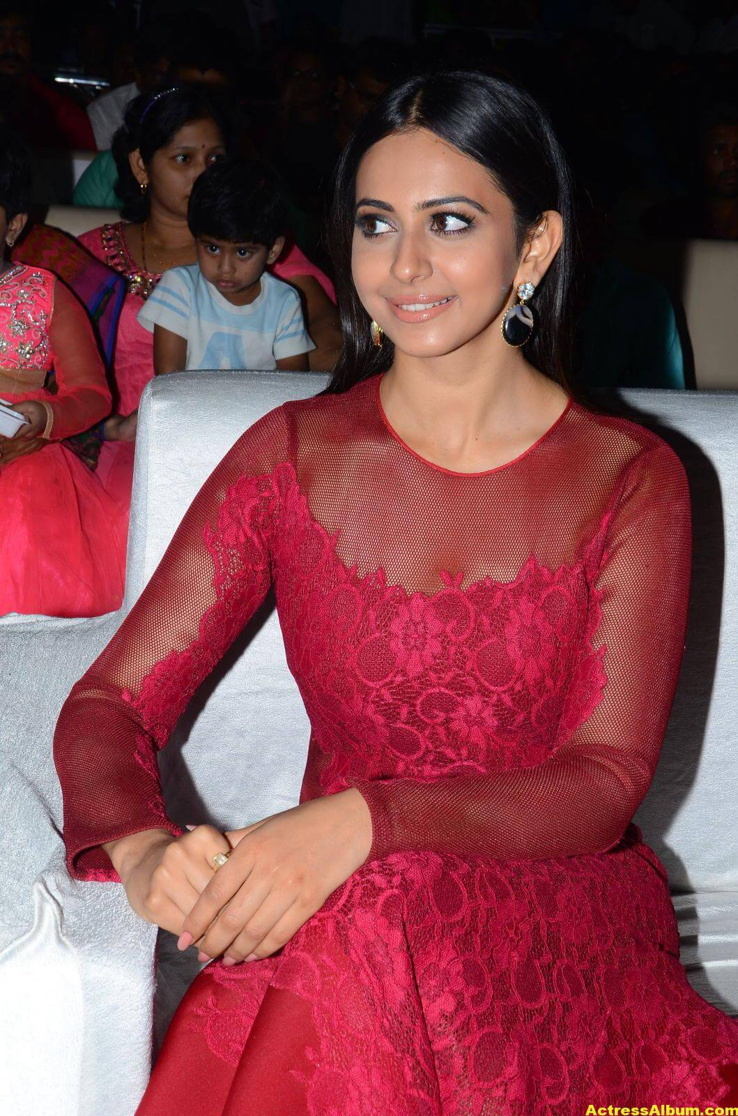 Rakul Preet Latest Photos in Pink Dress 2