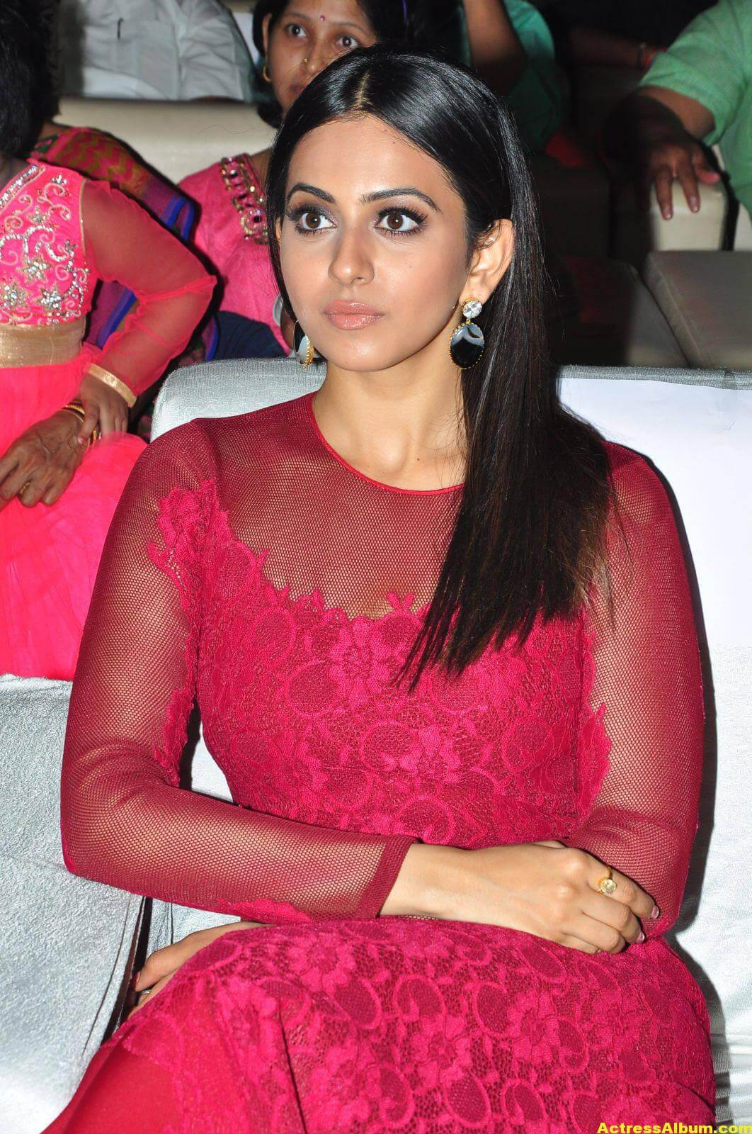 Rakul Preet Latest Photos in Pink Dress 3