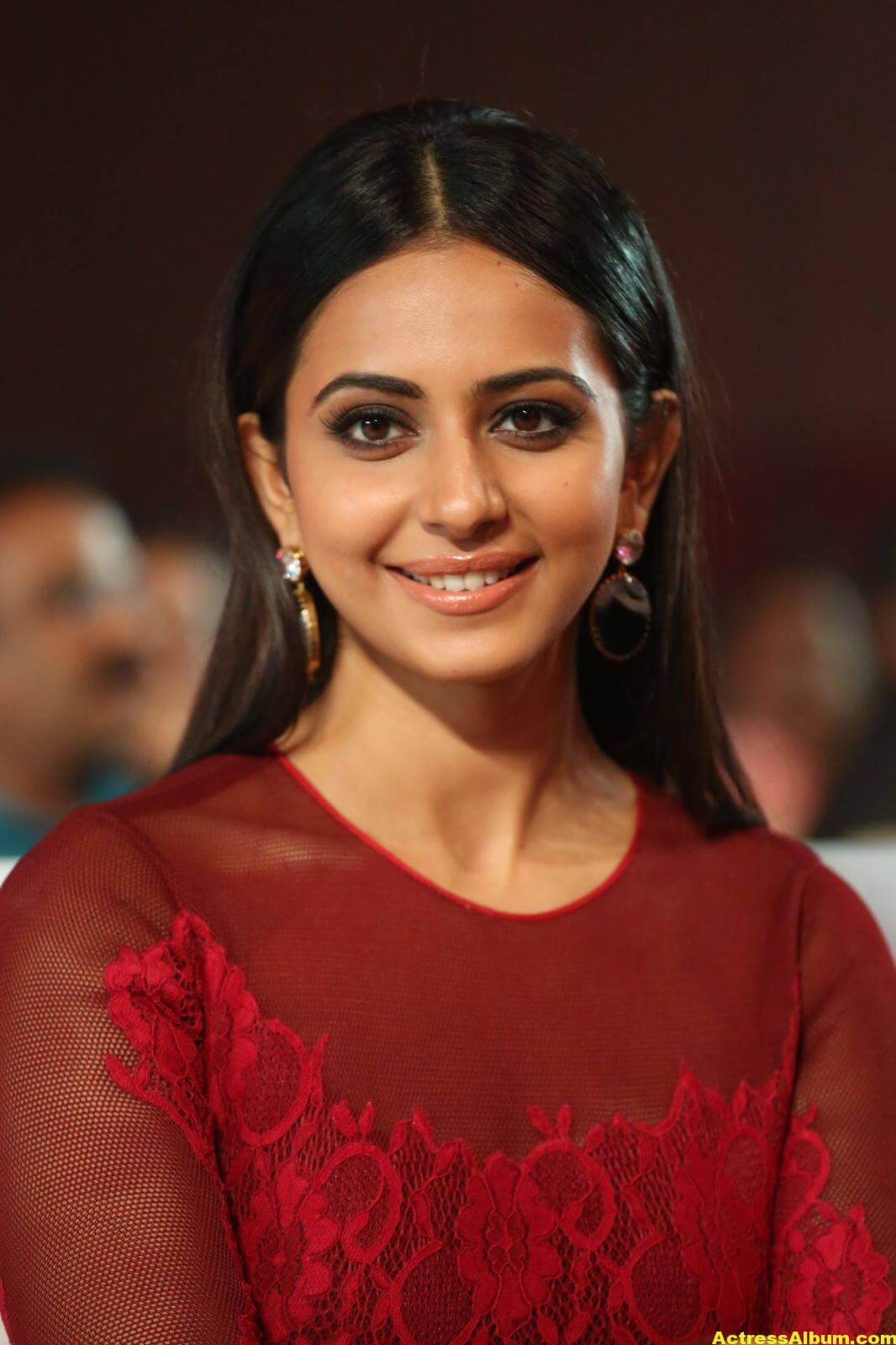 Rakul Preet Latest Photos in Pink Dress 6
