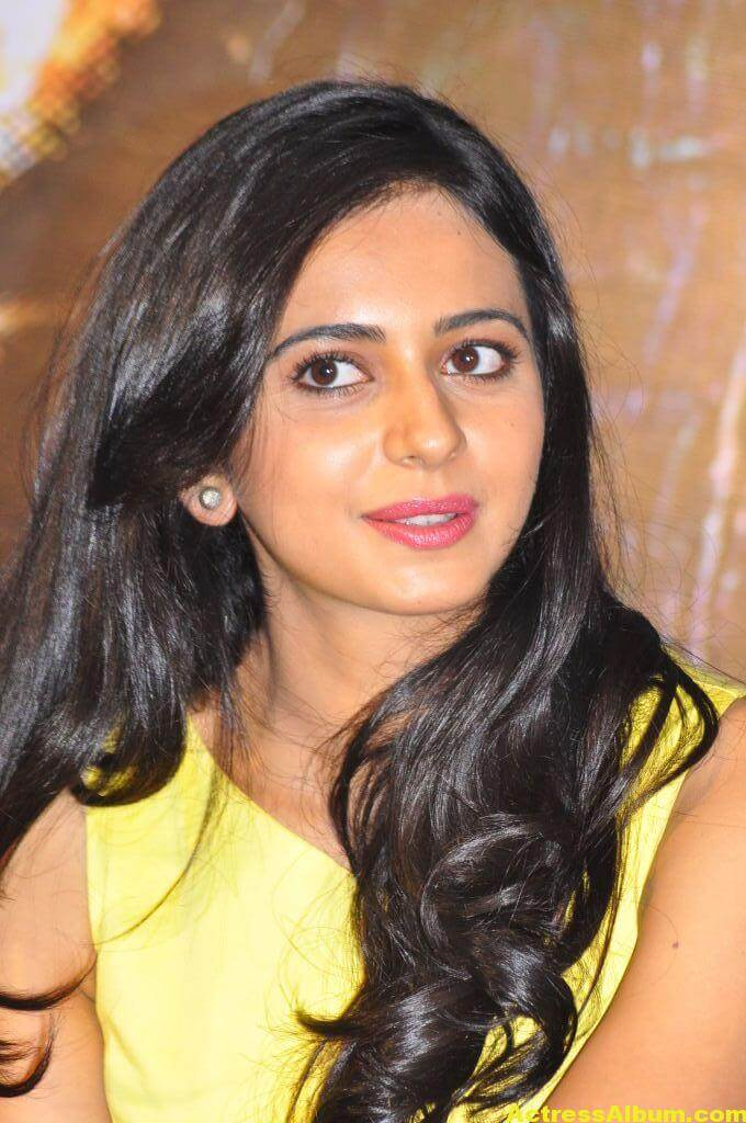 Rakul Preet Photo Shoot In Beautiful Yellow Dress 1