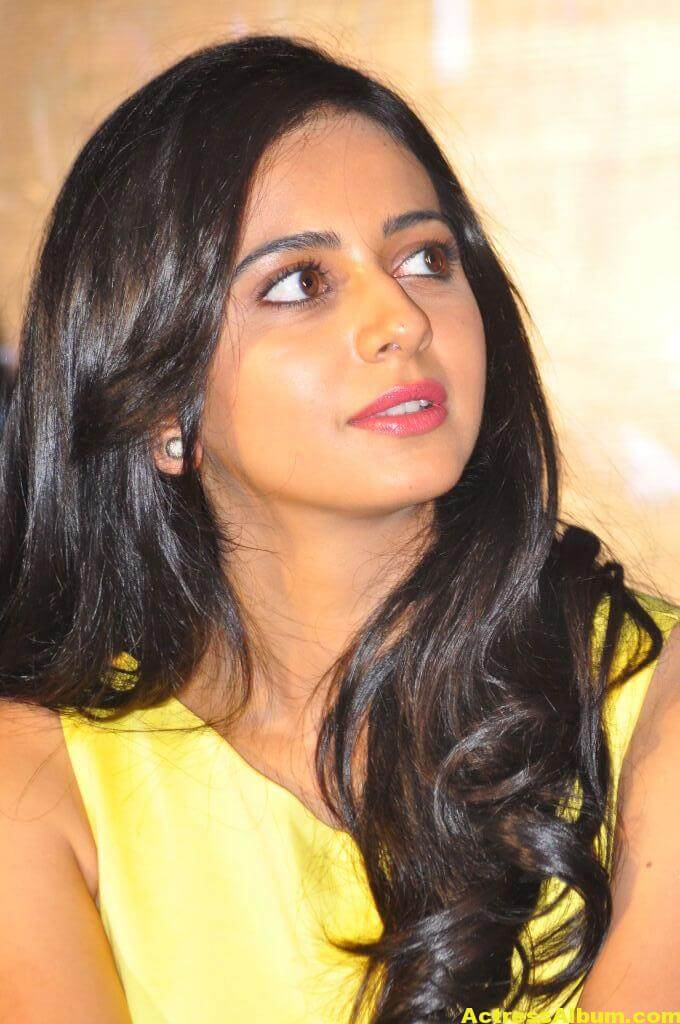 Rakul Preet Photo Shoot In Beautiful Yellow Dress 3