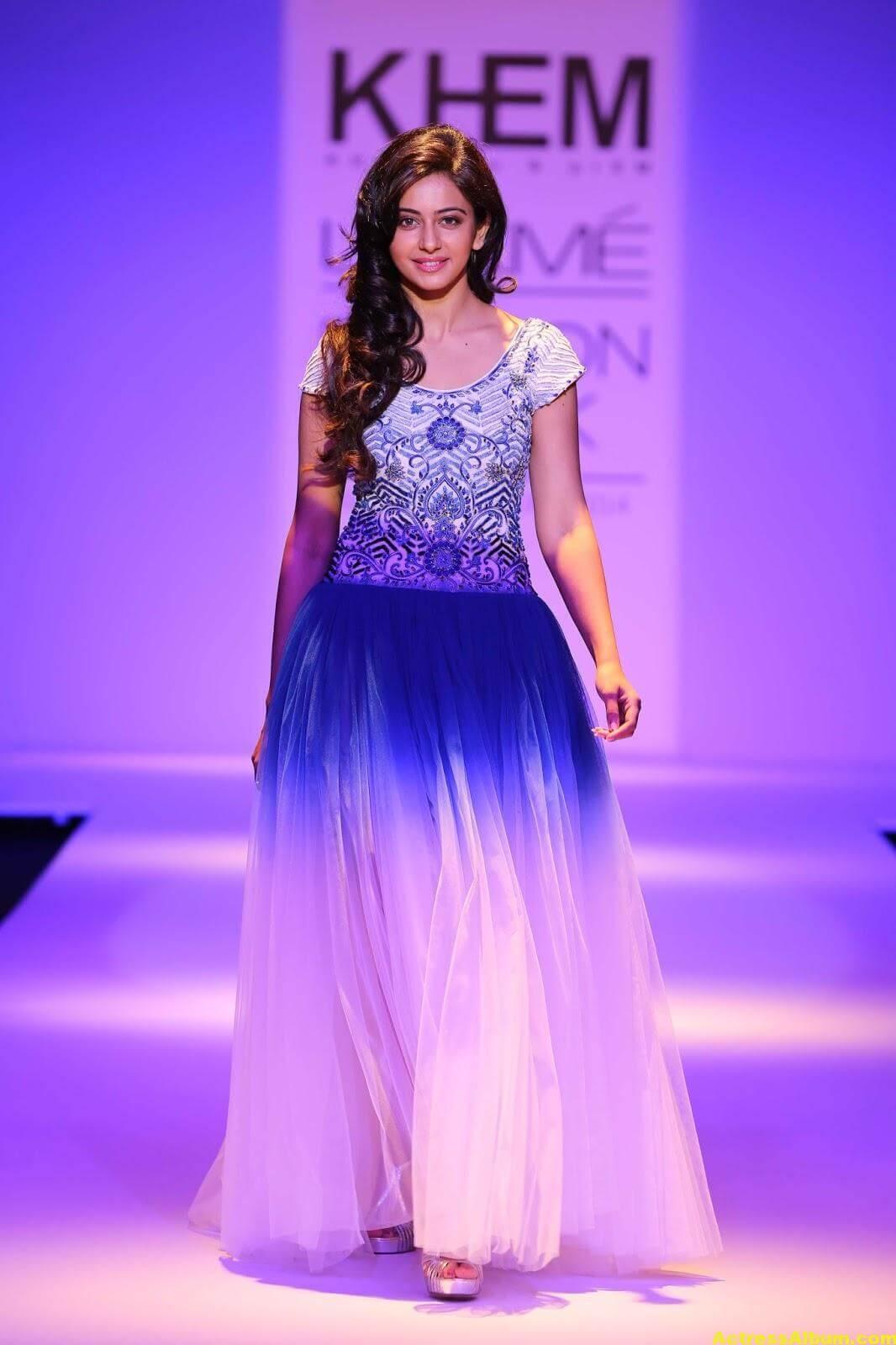 Rakul Preet Singh Gorgeous Photos In Blue Dress 1