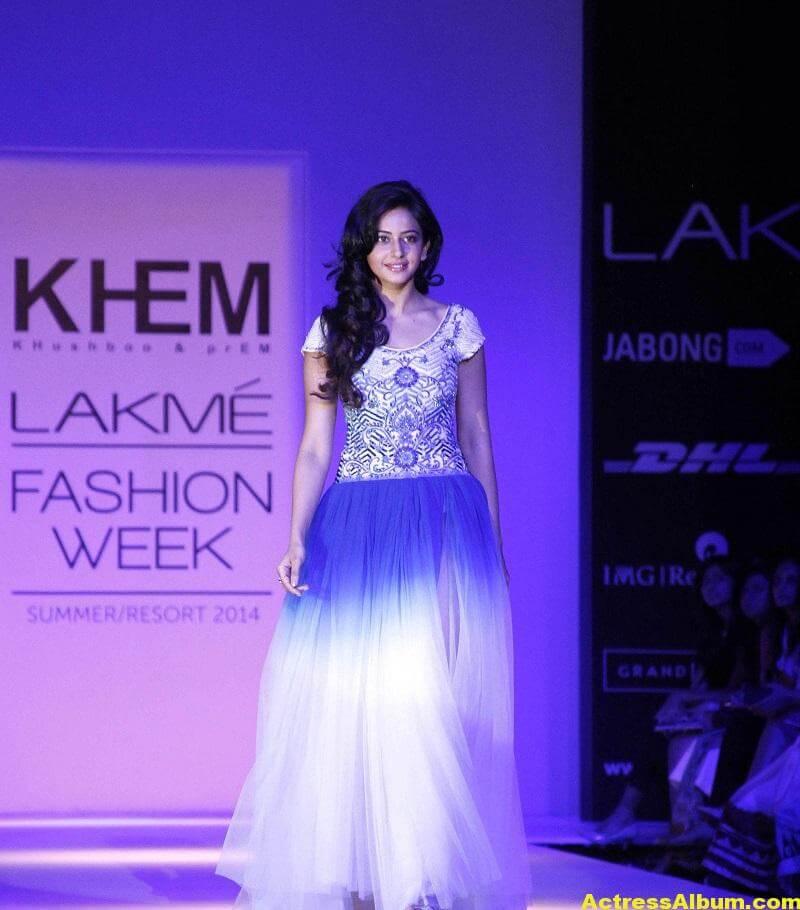 Rakul Preet Singh Gorgeous Photos In Blue Dress 2