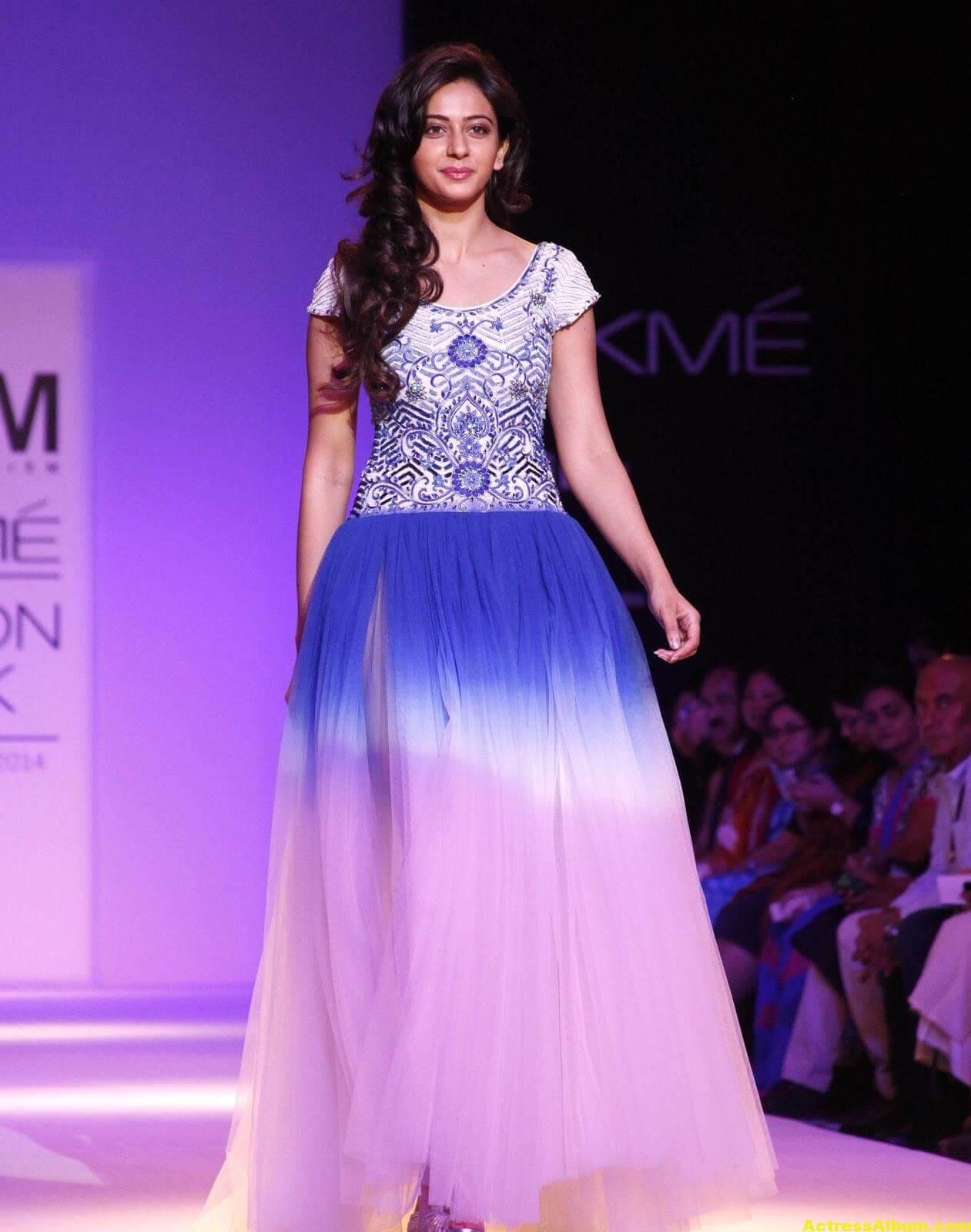 Rakul Preet Singh Gorgeous Photos In Blue Dress 5