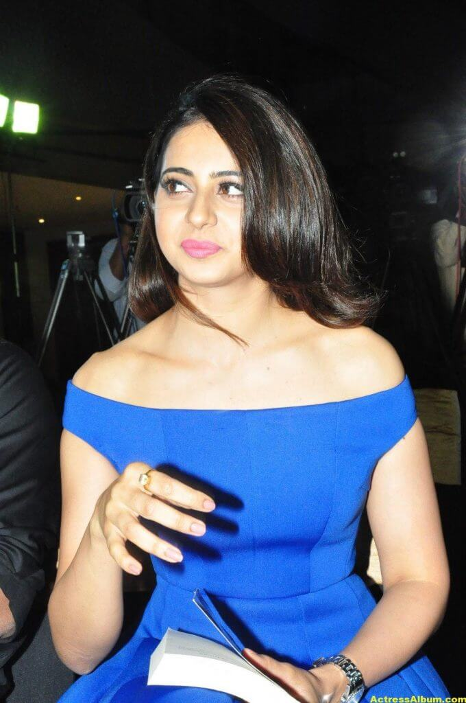 Rakul Preet Singh New Photos In Blue Dress 2