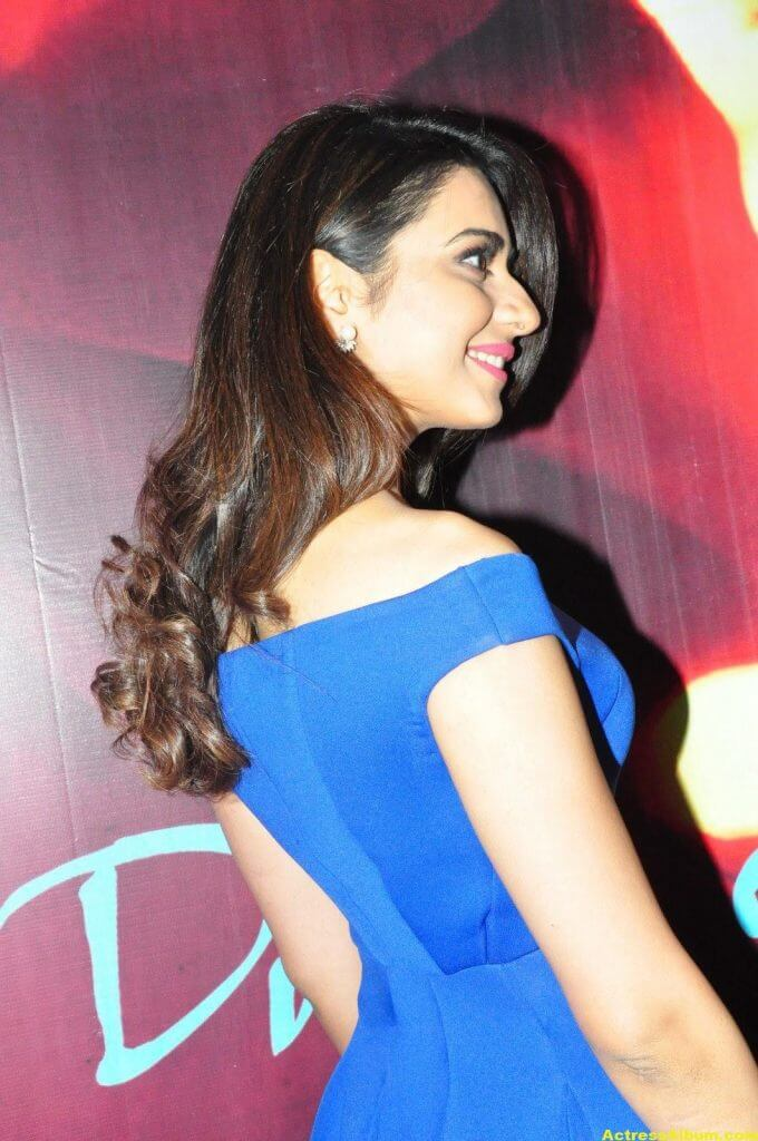Rakul Preet Singh New Photos In Blue Dress 3