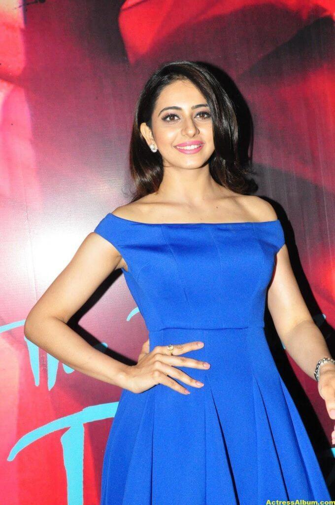 Rakul Preet Singh New Photos In Blue Dress 5