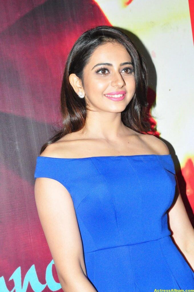 Rakul Preet Singh New Photos In Blue Dress 6