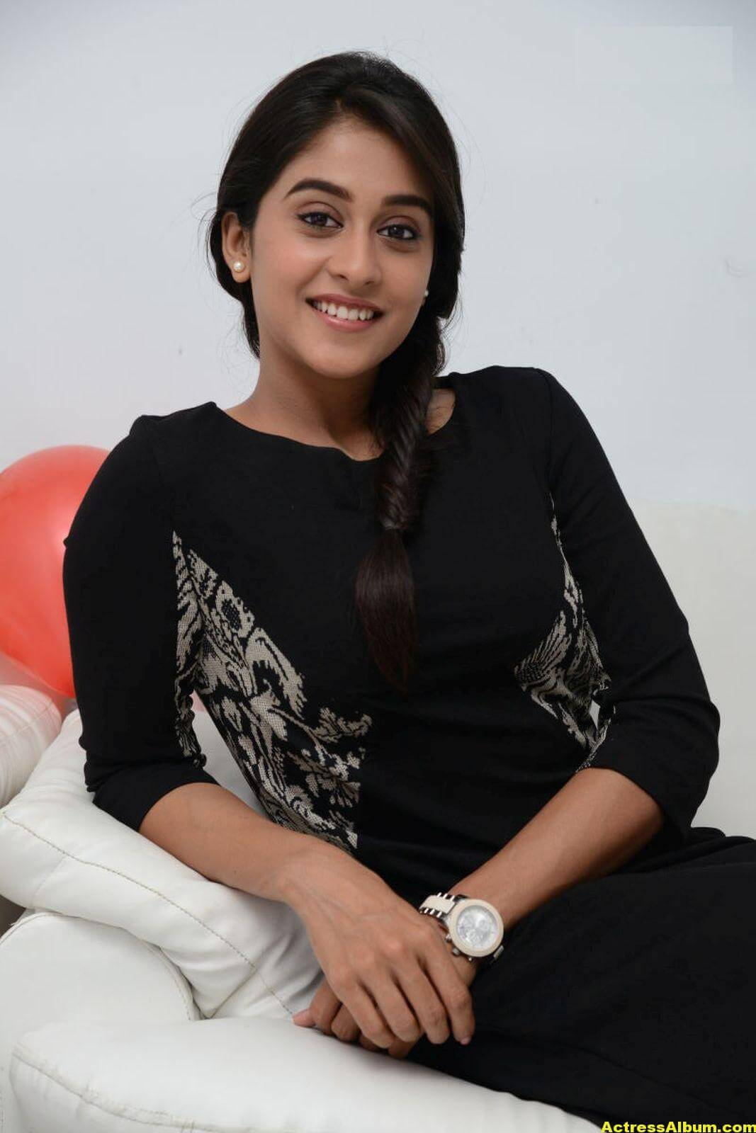 Regina Cassandra Cute Hot Photos In Black Dress 2