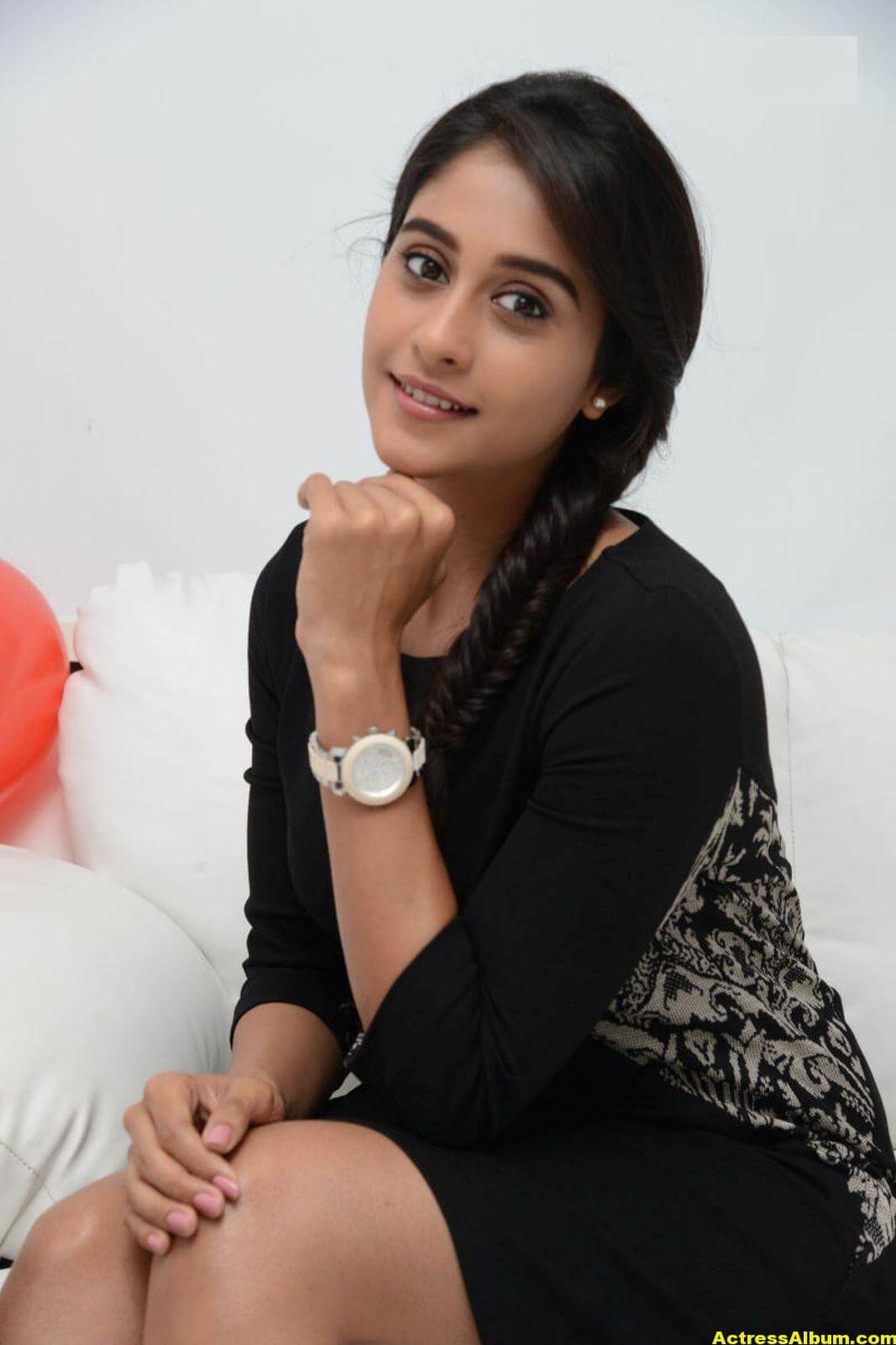 Regina Cassandra Cute Hot Photos In Black Dress 6