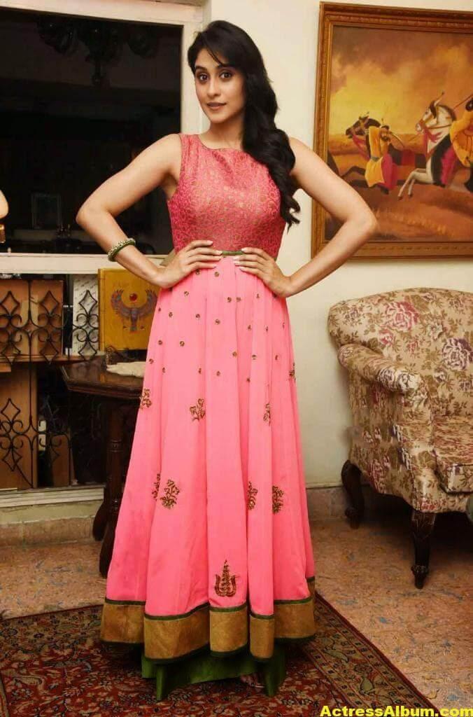Regina Cassandra Hot In Pink Dress 3