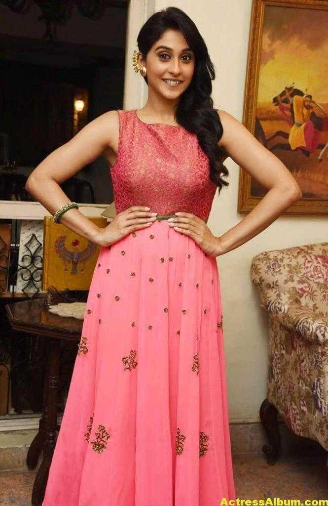 Regina Cassandra Hot In Pink Dress 5