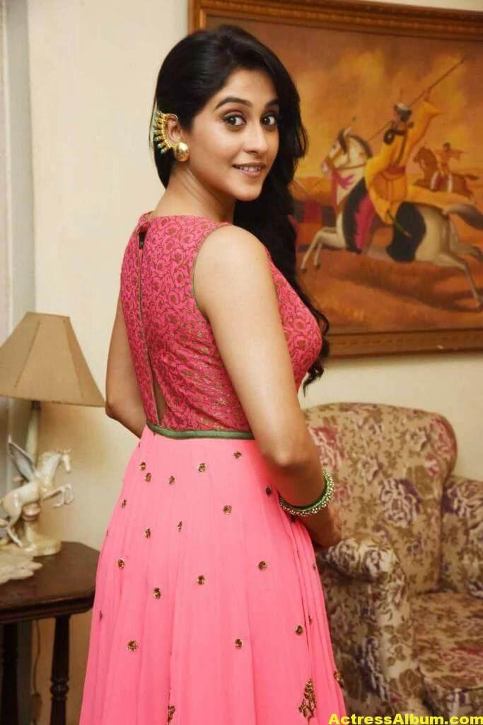 Regina Cassandra Hot In Pink Dress 6