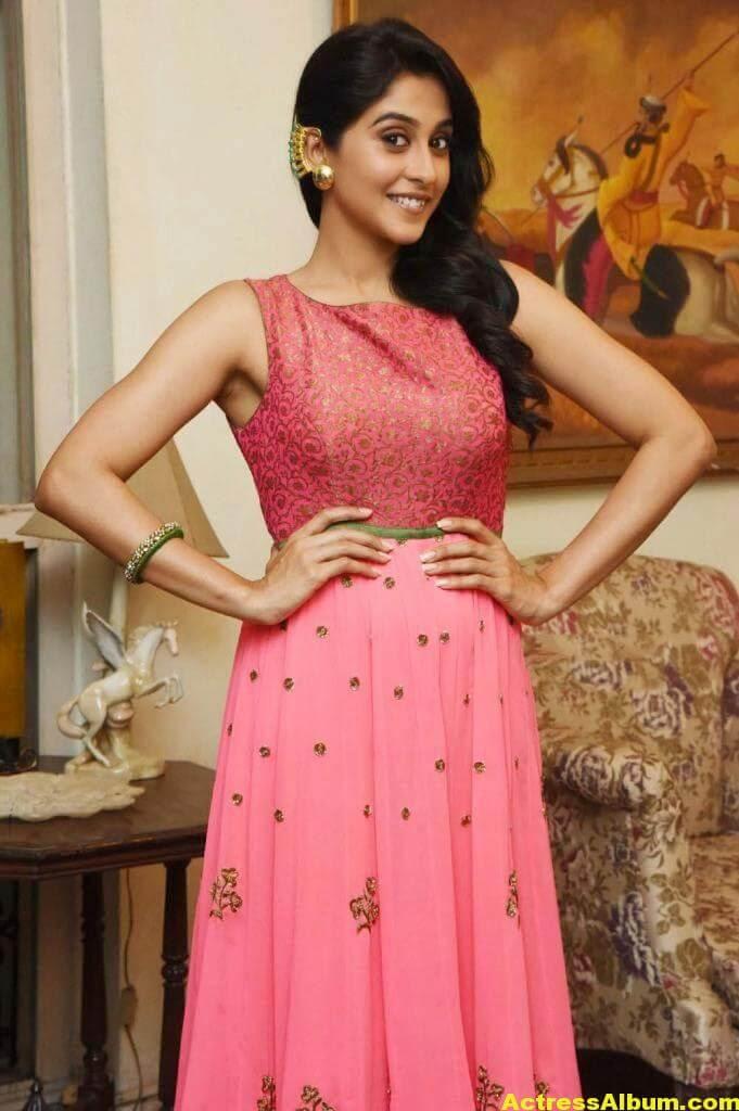 Regina Cassandra Hot In Pink Dress 7