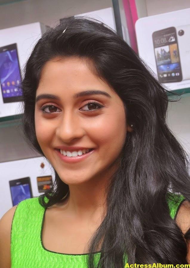 Regina Cassandra Latest Photoshoot In Green Dress 1