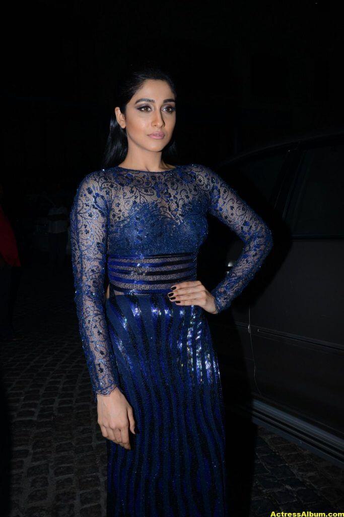 Regina Stills At Filmfare Awards In Blue Dress 3