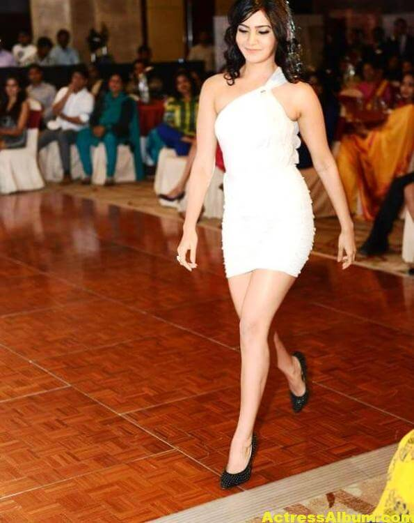 Samantha Hot Photos In White Dress 6