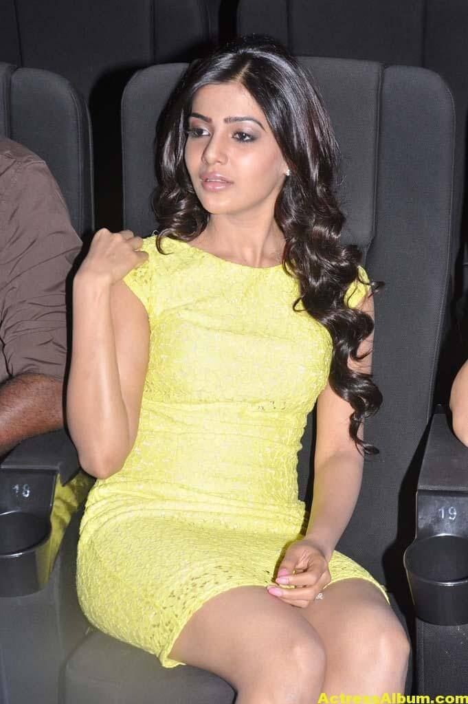 Samantha Skirt Hot Photo - Tamil Movie Naan Ee Audio Release