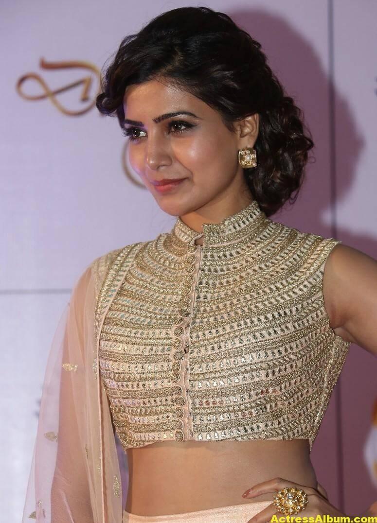 Samantha Stills At Memu Saitham In White Dress